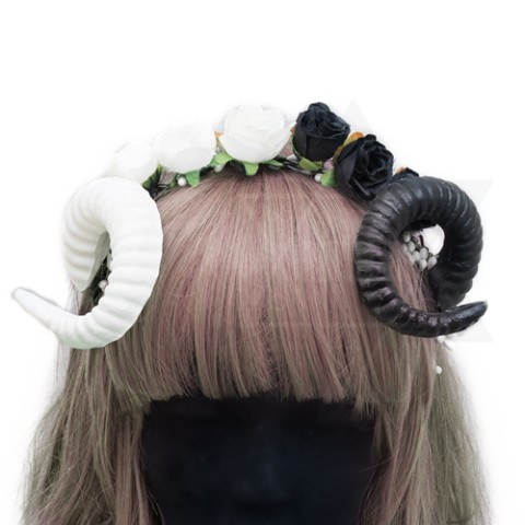 【Devilish】Yin and Yang hairband