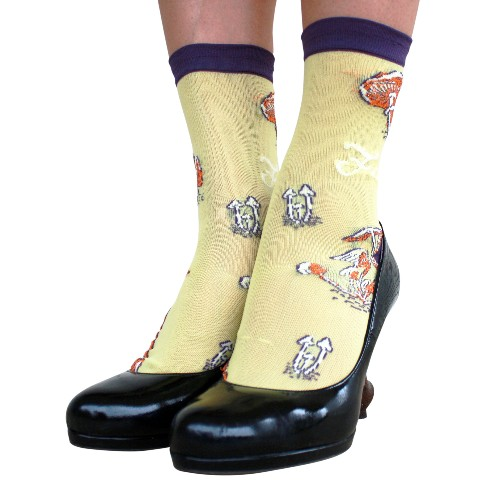 【Einelilie】Fungi SOCKS - YELLOW