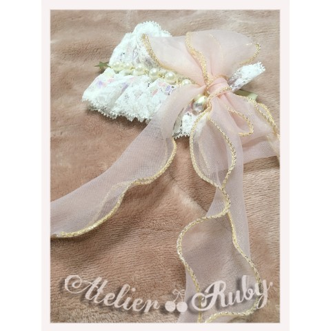 【Atelier Ruby】Sweet Fairy Barrette(ピンク)