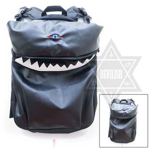 【Devilish】Eyed creature backpack Bag