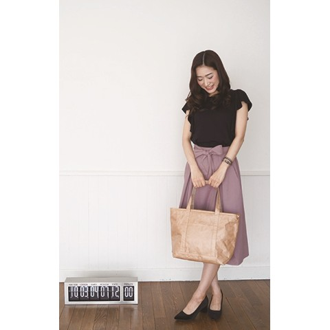 SLOWER BAG TOTE BROWN
