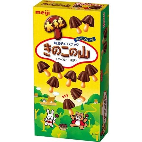 きのこの山 チョコの量