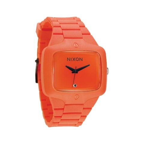 【NIXON】RUBBER PLAYER 【ORANGE】