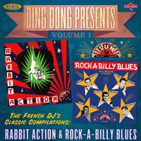 V.A./DING DONG PRESENTS Vol 1 Rabbit Action&Rock A Billy Blues