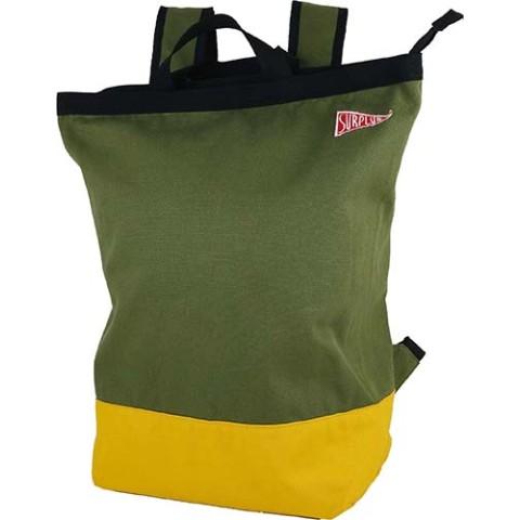 surplus 2way backpack khaki 雑貨通販 ヴィレッジヴァンガード公式