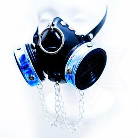 【Devilish】Cyber punk gas mask