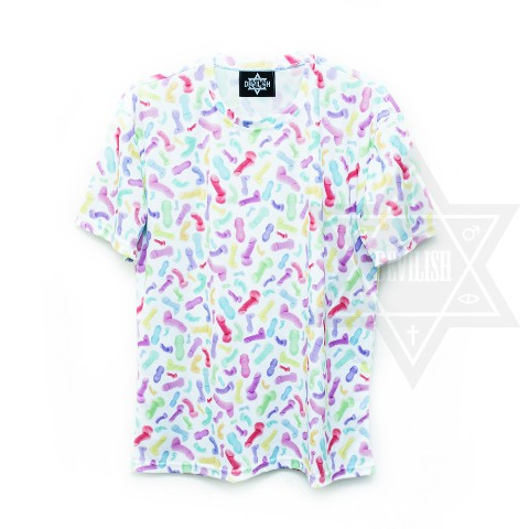 【Devilish】Color fantasy T-shirt