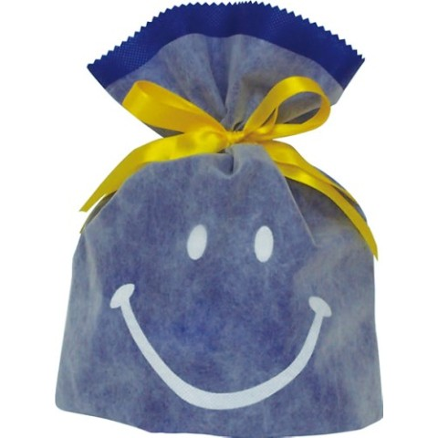 Gift Bag (S) Smile Blue
