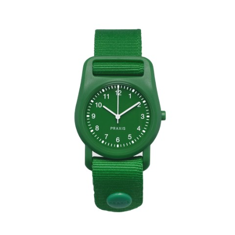 PRAXIS STRAP WATCH GREEN