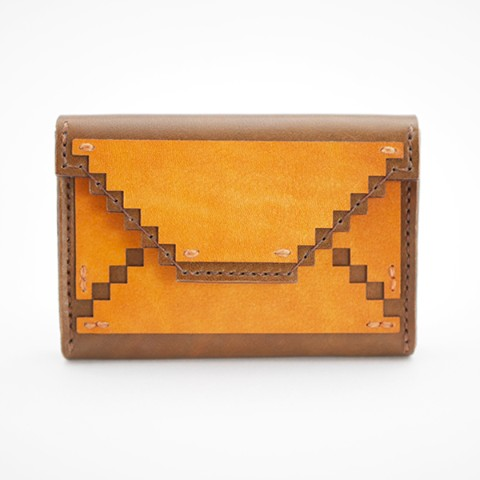 【.C Leather Designs】CARDHOLDER -mail-