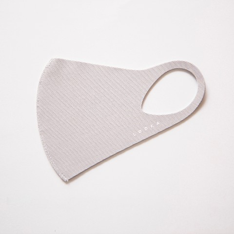 【LOOKA】Refreshing Mask (LIGHT GRAY) M
