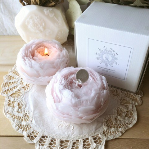 【10mei candle works】pivoine L