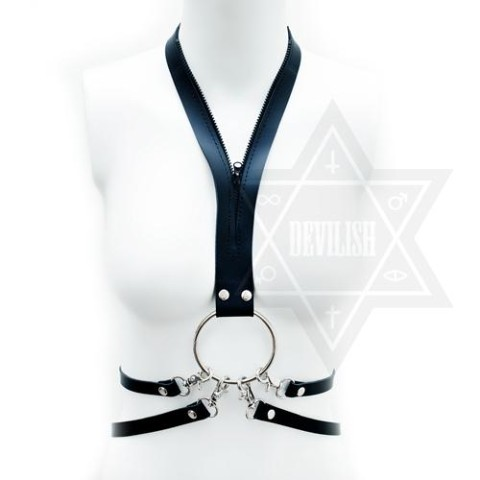 【Devilish】Zip up harness