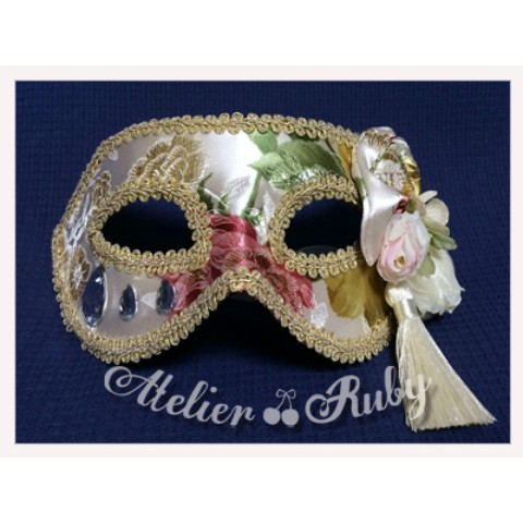 【Atelier Ruby】Mask Headdress-China/WH