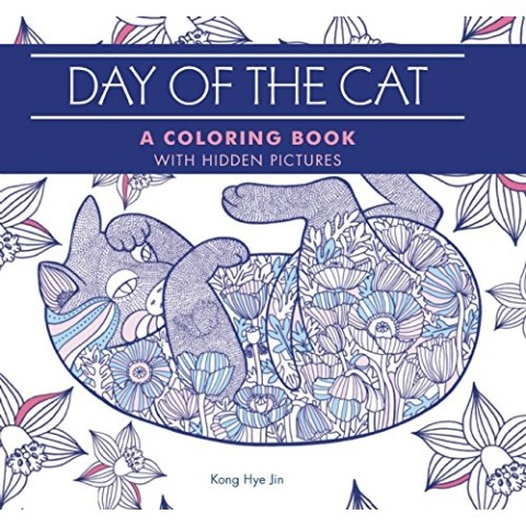 【塗り絵・洋書】The Day of Cat/LBS
