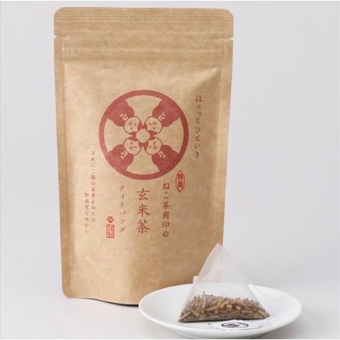 ねこ茶商印の玄米茶ティーバッグ...
