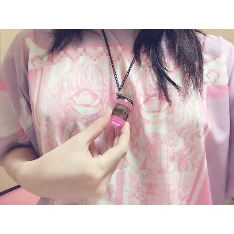 【Devilish】Treasure Bottle Necklace(Fairy's blood)