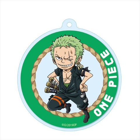 【ONE PIECE】アクリルキーチェーン(ゾロ)