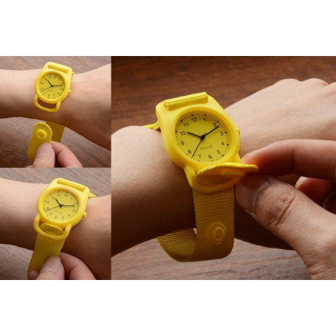 PRAXIS STRAP WATCH YELLOW