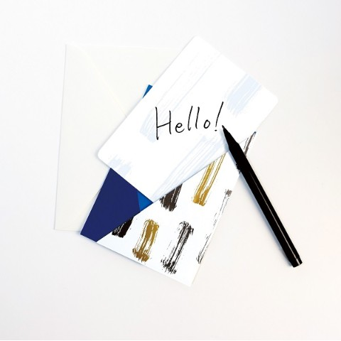 paperable・キモノメッセージカード ぎんねず/Sサイズ 378円(2019/1/28時点)