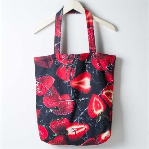Sweat tote Bag A 【Barbed berry】
