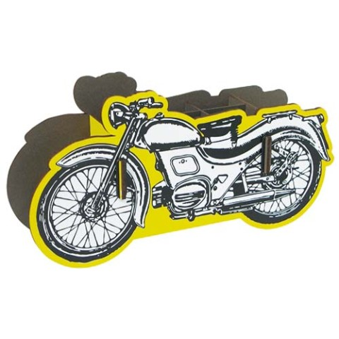【オブジェとしても◎】Penbox Bike /Motorcycle Yellow