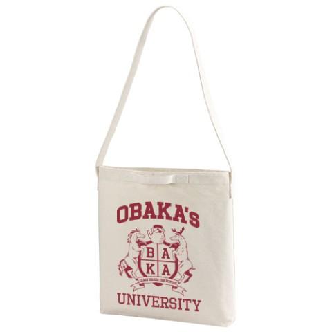 1ab22900b9c2 OBAKA's UNIVERSITY ショルダートートバッ... OU=お湯。 2419