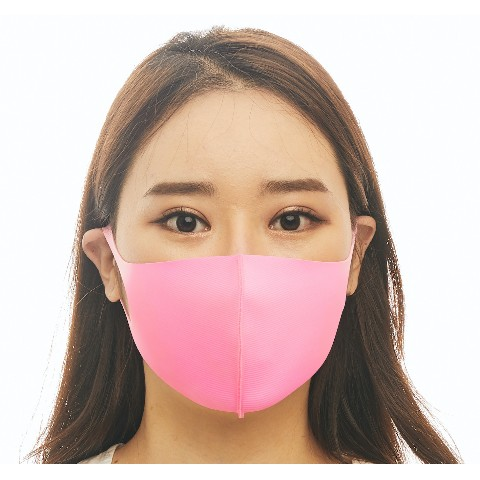 【LOOKA】Refreshing Mask (LIGHT PINK) S