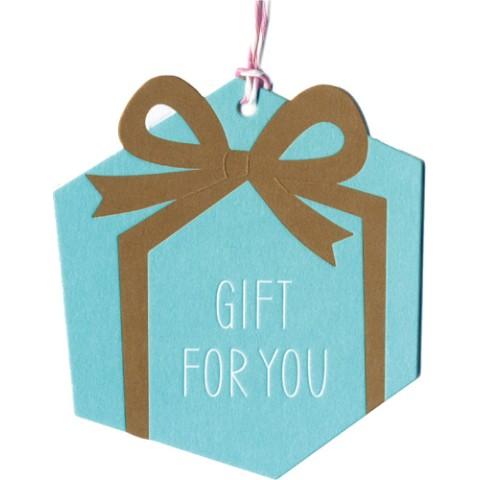 気持ちを伝えよう greeting tag gift for you present lbl 雑貨