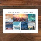 【新海誠作品】Shinkai Works Calendar 2020