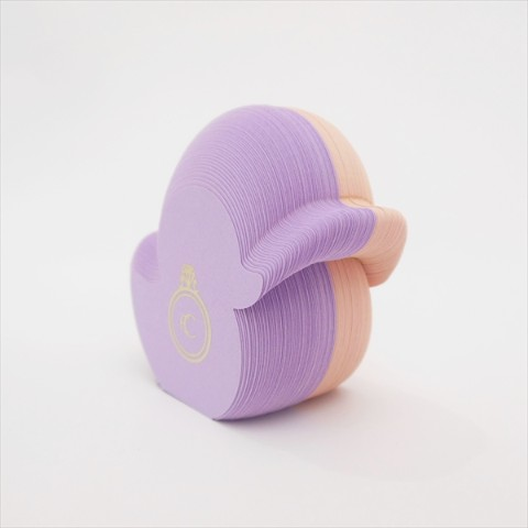 【鳥ふせん】Bird Sticky note Duck  アヒル purple/pink【CRU-CIAL】