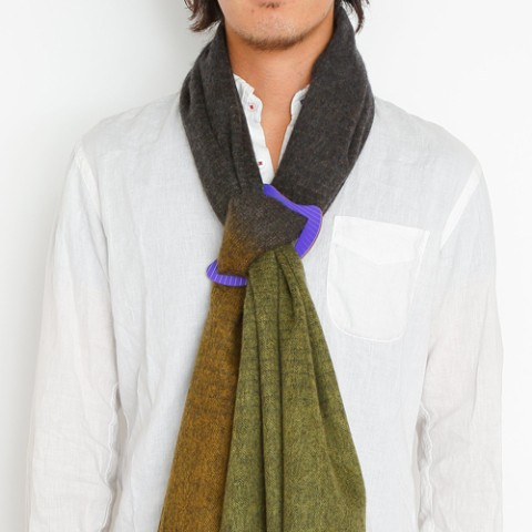 "【TAKI PRODUCTS】scarf buckle """"SUITE OF CLOTH"""" 太陽"