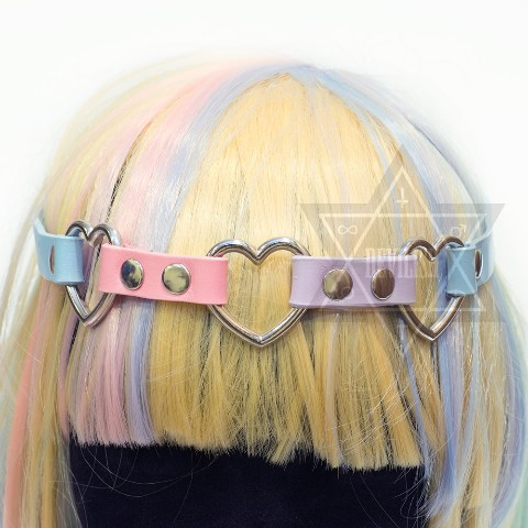 【Devilish】Pastel heart  Hairband