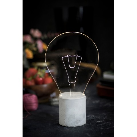 【STURL DESIGN】LAMP BULB/Grey Base