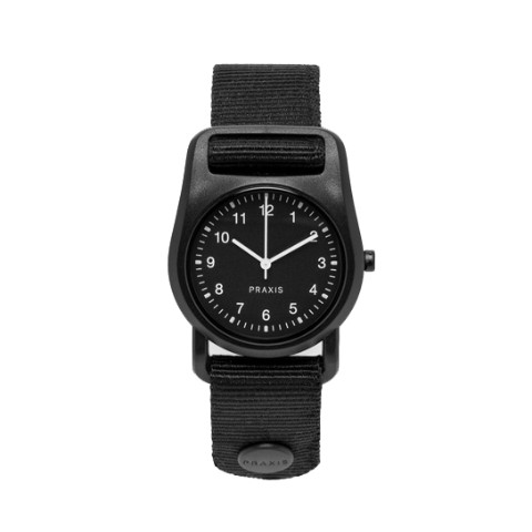 PRAXIS STRAP WATCH BLACK