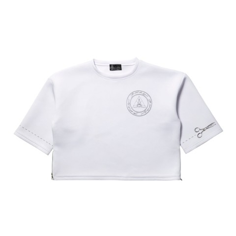 【CuLLt】Bonding Logo T-shirt(WHITE)