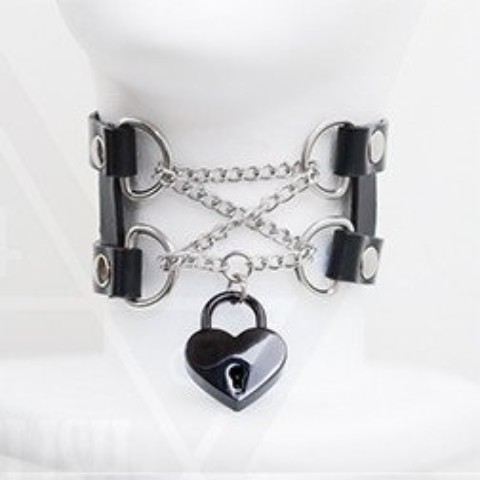 【Devilish】<囚われの私>I am taken choker(black)