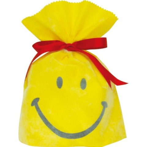 Gift Bag (S) Smile Yellow