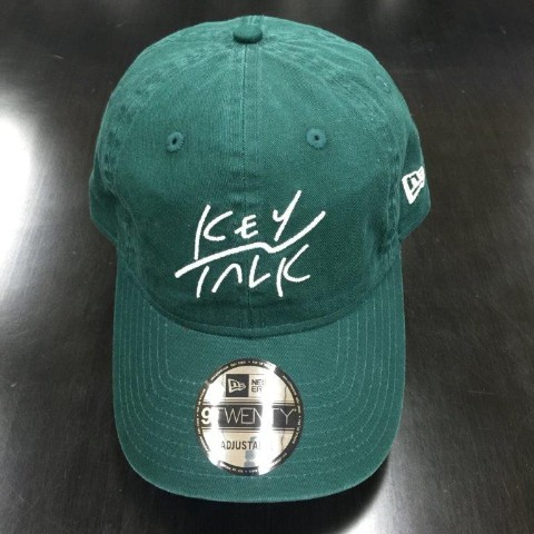 KEYTALK×NEWERA 9TWENTY Cloth Strap/GREEN【下北沢店直送】