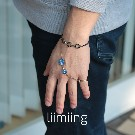 【liimiing】Earth & MOON Amulet Men's