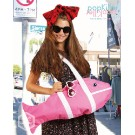 【popkiller CREATURE BAG】LARGE Fish PINK さかなちゃん