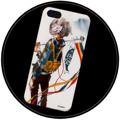 【Jupiter】iPhone5/5Sケース(鯉)