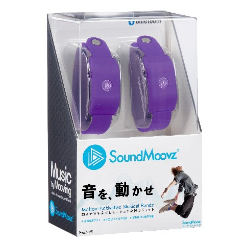 SoundMoovz パープル<ダンス連動型ガジェット>