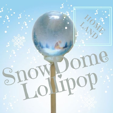 SnowDome Lollipop homeland / Cotton Candy