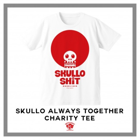 【SKULLSHIT】SKULLO Always Together T-sh (XSサイズ)