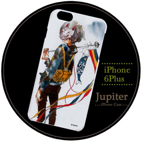 【Jupiter】【iPhone6Plusケース】鯉