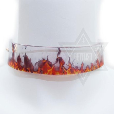 【Devilish】flame choker