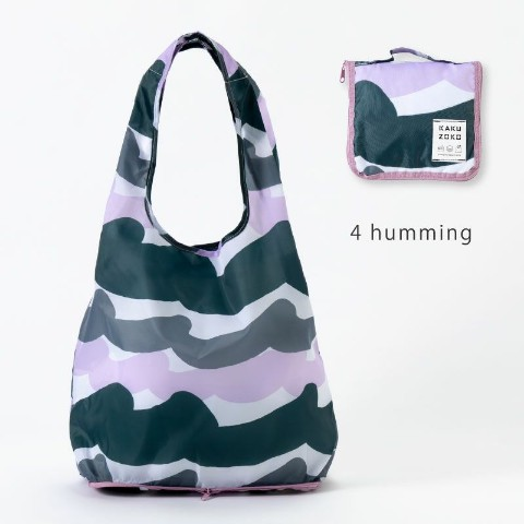 【エコバッグ】KAKUZOKO BAG M(humming)