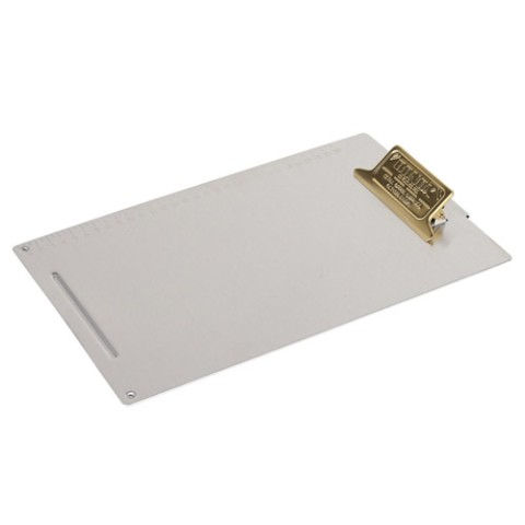 METAL CLIPBOARD A4 BRASS
