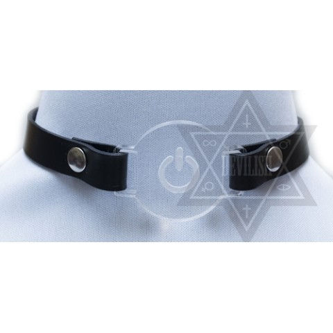 【Devilish】Power button choker
